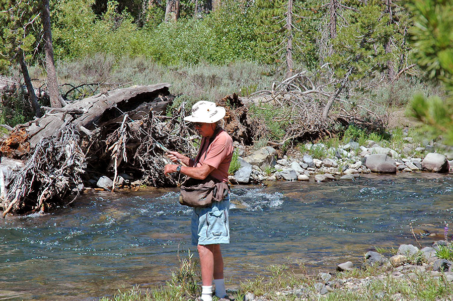 Freshwater fishing the mammoth lakes area the san for San joaquin river fishing