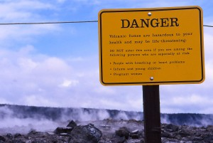 Kilauea warning
